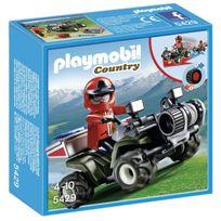 Playmobil - Quad de secours montagne - Wdk