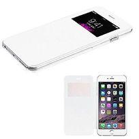 Cabling - Etui coque housse flip cover view iphone 5, 5s Blanc