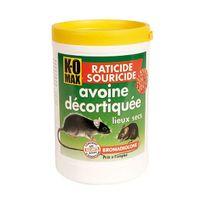 Komax - raticide souricide avoine décortiquée 400g - xa400