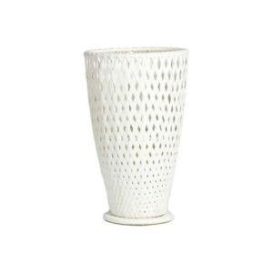 declikdeco cache pots large blanc en r sine tress e darl ne pas cher achat vente petite. Black Bedroom Furniture Sets. Home Design Ideas
