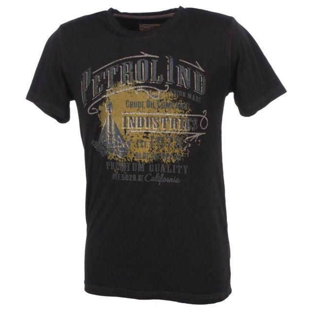 shirt mc Petrol army tee courtes green Industries Tee Jack manches 77qS48Ew