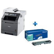 BROTHER - Multifonction laser 3-en-1 LED DCP-9020CDW + Toner PELIKAN compatible TN241 BK Noir