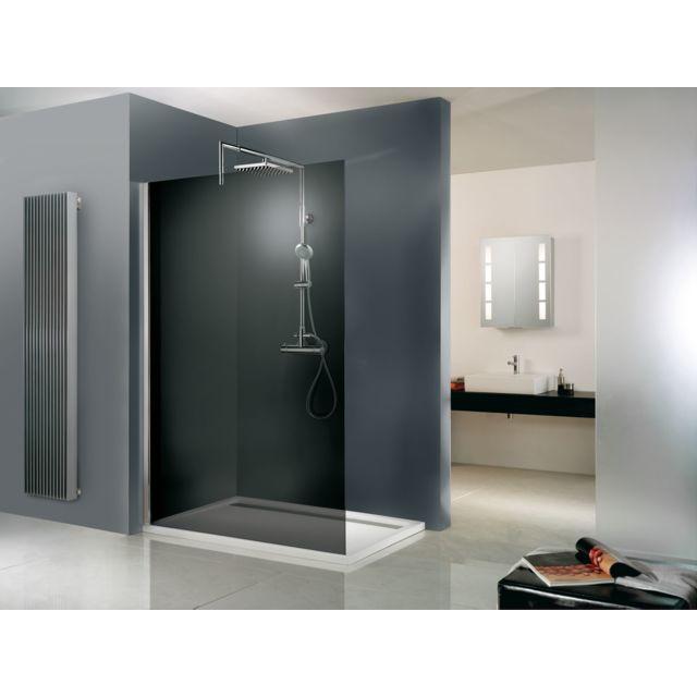 schulte paroi de douche fixe 90 x 200 cm paroi de. Black Bedroom Furniture Sets. Home Design Ideas