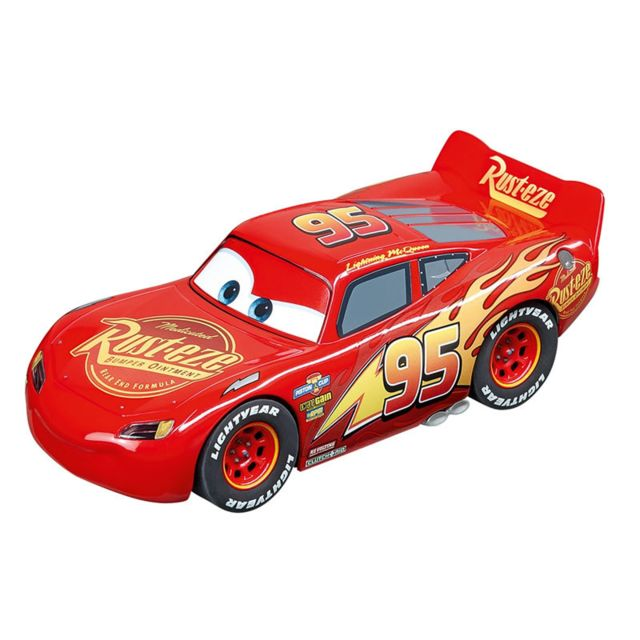 Carrera Voiture pour circuit Go Cars 3 : Flash McQueen