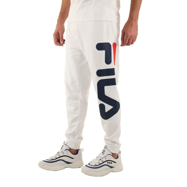 Fila Pantalon Pure Basic Pants 681094 Couleur Blanc