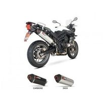Triumph - 800 Tiger-11/16-SILENCIEUX Ovale Inox Scorpion Red Power-76106839