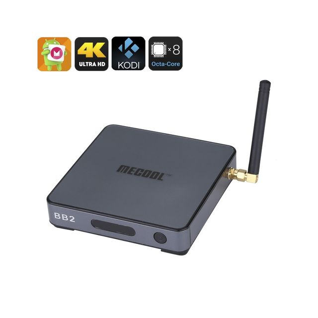 Auto-hightech Smart box tv Android - Octa base Amlogic S912 Cpu, 2 Go de Ram, Android 6.0, Kodi 17,0, 4Kx2K