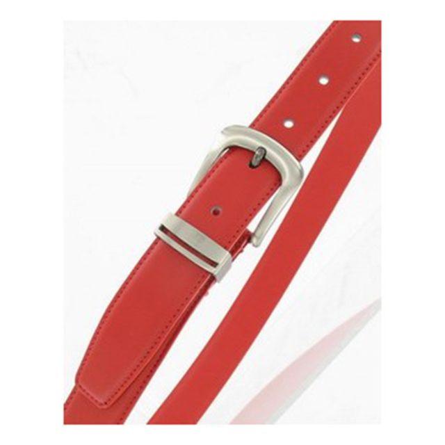 MAISON FUTEE - Ceinture Femme en cuir Rouge 80 cm - pas cher Achat ... 83f49c76351