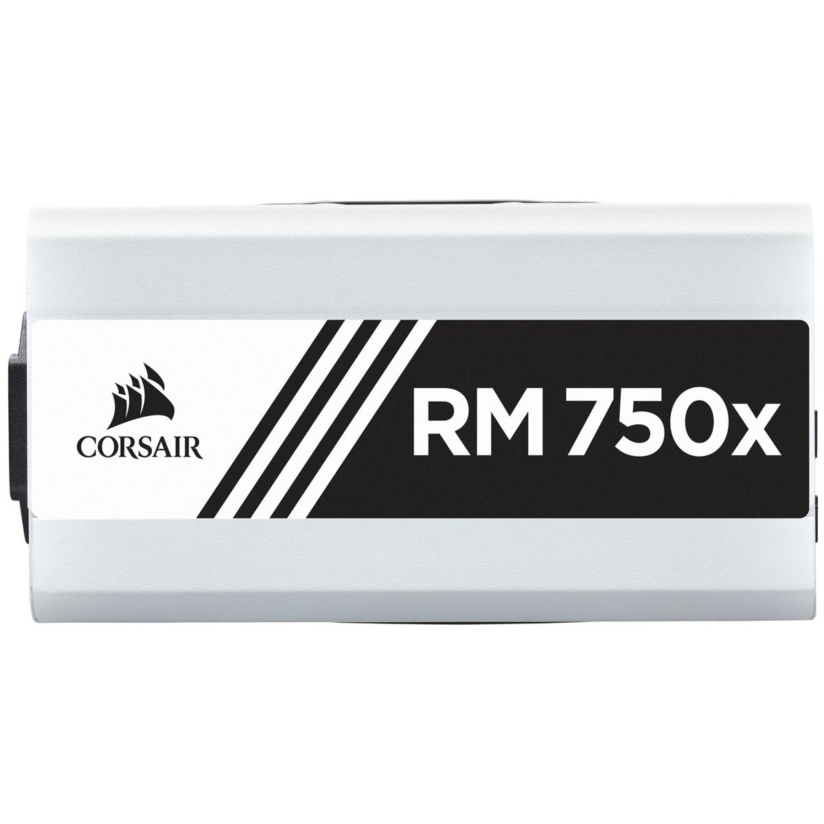 Alimentation RM750x 750 W 80 Plus Gold Corsair Blanc