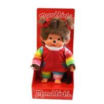 No Name - Monchhichi Arc En Ciel Kiki Fille 20 Cm