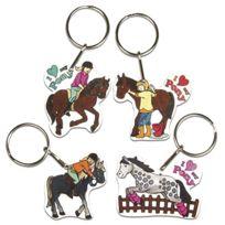 Rayher Hobby - Rayher 75354000 Schrumpffolien-my-pony 4 Motifs Avec Porte-clÉS - 8 PiÈCES