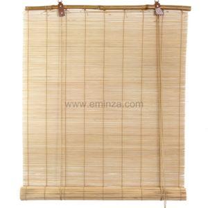 eminza store enrouleur lattes 90 x h90 cm bambou naturel pas cher achat vente store. Black Bedroom Furniture Sets. Home Design Ideas
