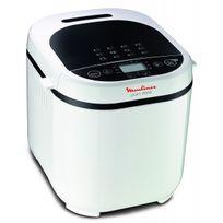 MOULINEX - Machine à pain Blanche Pain Doré 1 kg OW210130