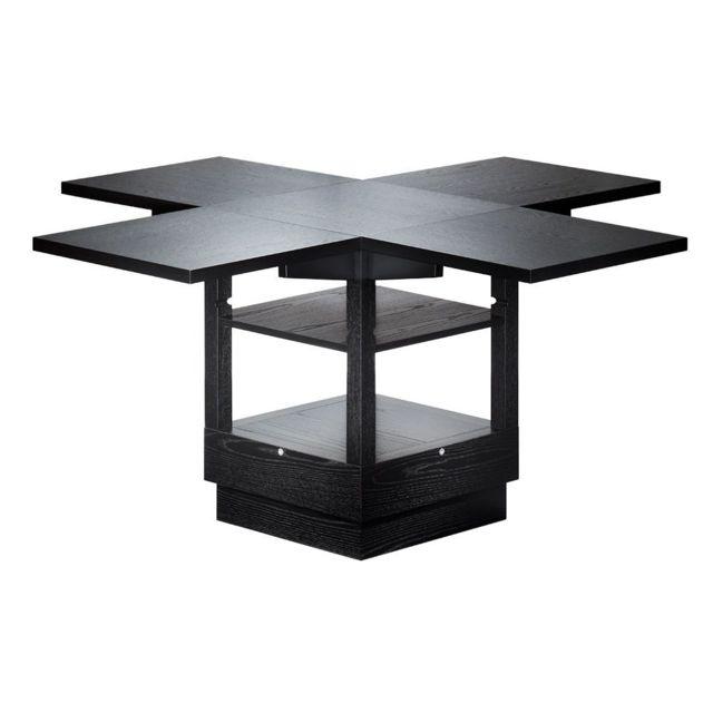 Tecta Table pliante Bauhaus - blanc - K10