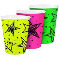 Folat - Gobelets Fluo Party x6