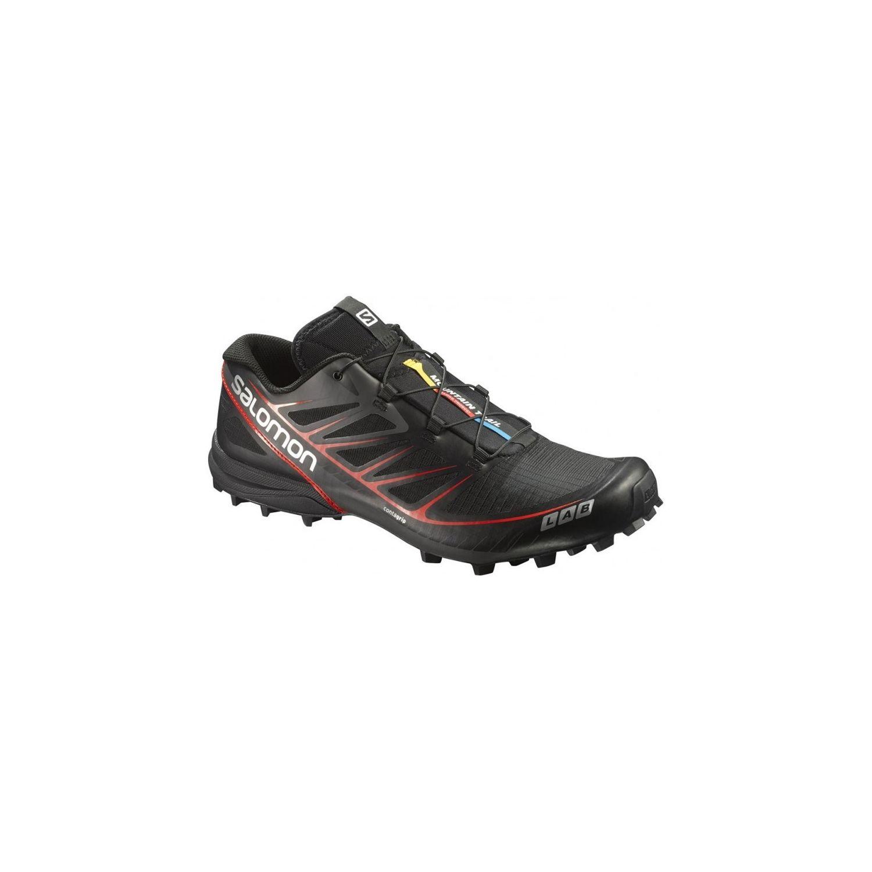 Salomon - Men Slab Speed Noir - 42 2/3 - pas cher Achat / Vente Chaussures running