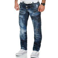 Kosmo Lupo - Jeans fashion Jean homme 050 bleu