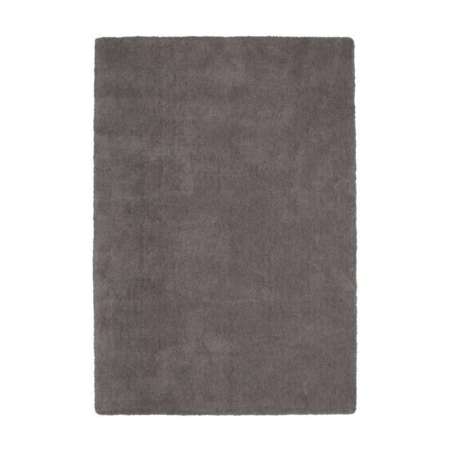 soldes deladeco tapis en polyester doux uni platine pour salon hawaii pas cher achat vente. Black Bedroom Furniture Sets. Home Design Ideas