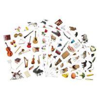 Maildor - gommettes photos adhésives assorties, repositionnables - maxi pochette de 1296