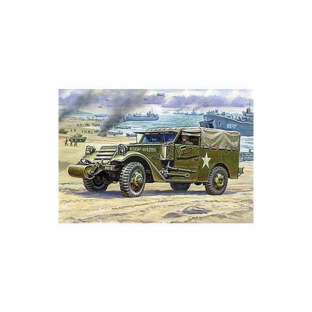 zvezda maquette m3 armored scout car avec b che pas cher achat vente voitures rueducommerce. Black Bedroom Furniture Sets. Home Design Ideas