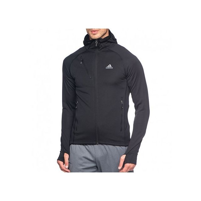 a51f46a572313 Adidas originals - Veste Outdoor Homme Noir Adidas - pas cher Achat ...