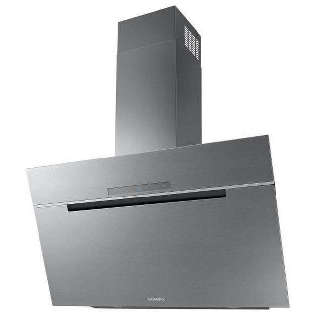 Samsung hotte d corative inclin e 90cm 760m3 h inox nk36m7070vs achat hotte d corative - Hotte decorative inclinee ...