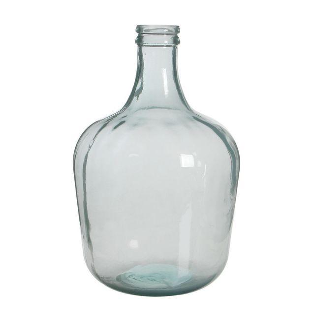 Edelman - Vase Dame Jeanne en verre uni blanc Diego