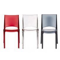 chaises polycarbonate Achat chaises polycarbonate pas cher Rue