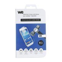 WE - Protection d'écran pour Galaxy Core Prime en verre trempé anti-rayures, anti-reflets anti-bulles d'air