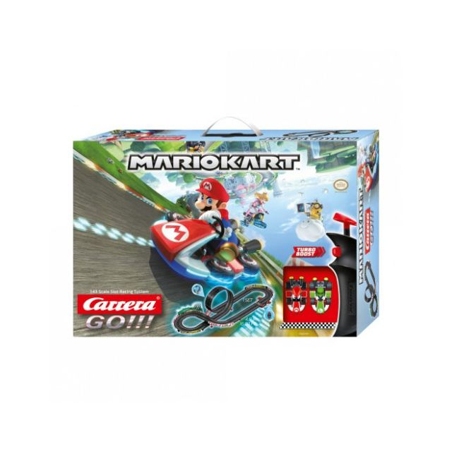 Carrera Circuit voitures Mario Kart 1/43 - Dès 6 ans - Go!!! 62491