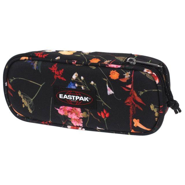 08fe81302b Eastpak - Trousse à crayons Oval black plucked Noir 83443 - pas cher ...