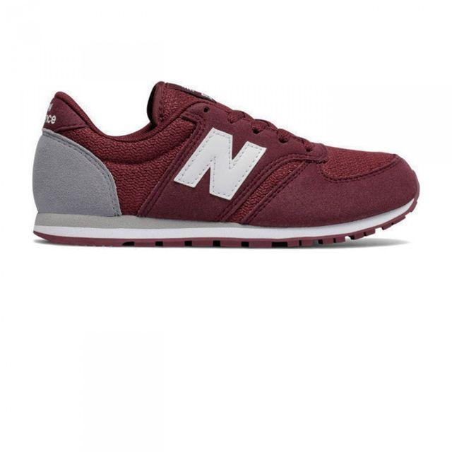 New Balance - Chaussures Enfant Kl420 Burgundy Jr 40 - pas cher Achat    Vente Baskets enfant - RueDuCommerce 4502813cd12b
