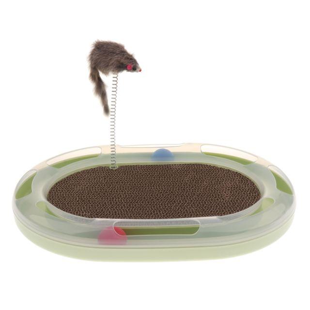 jouet chat papillon interactif ventouse ball