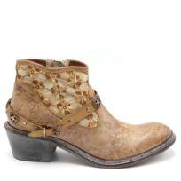 Bkr - Boots Broderies Fleurs