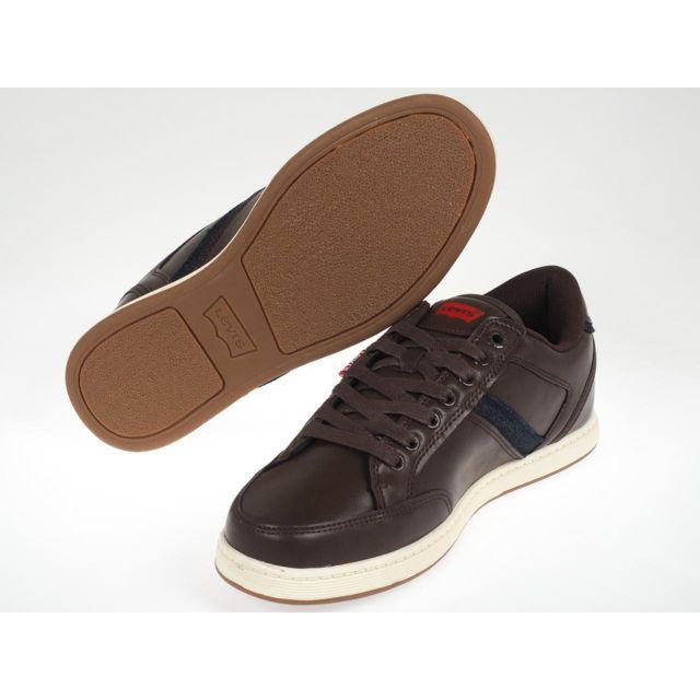 Levi's Chaussures mode ville Levis Cypress brown Marron
