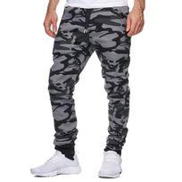 Violento - Jogging homme camouflage Jogging 794 gris foncé