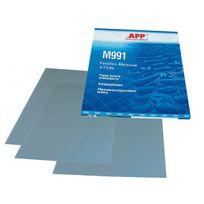 Bvd - 50 feuilles abrasives à l'eau grain 1500 format 230 X 280mm