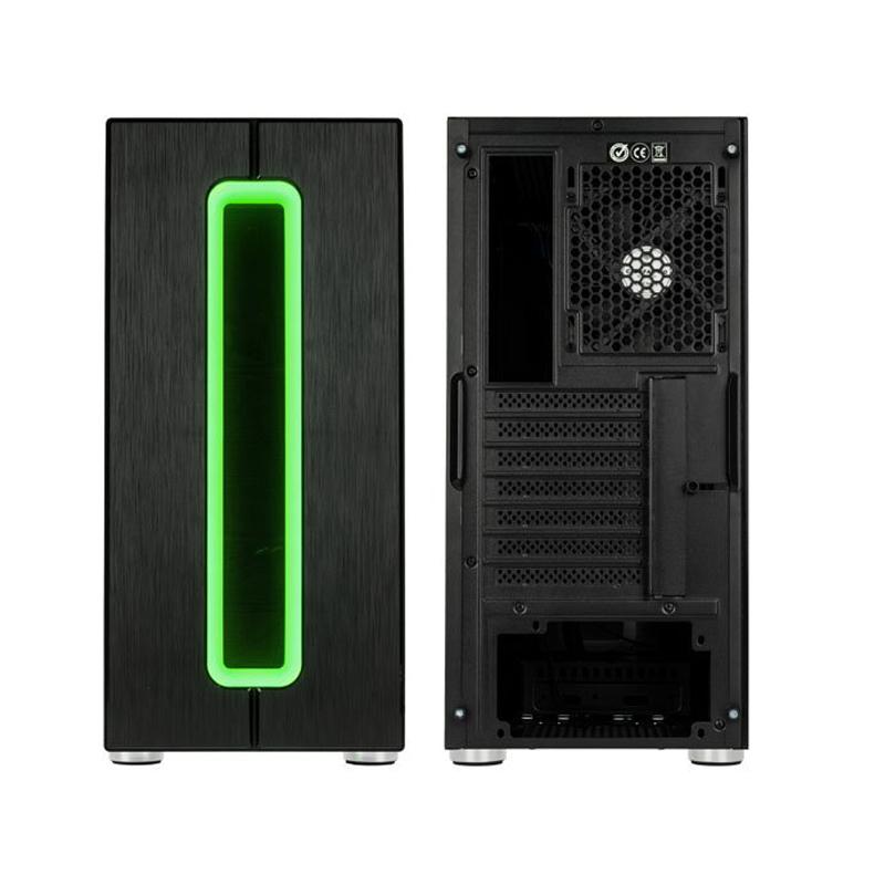 Boitier PC Gamer Phalanx RGB avec fenêtre Kolink Noir  width=