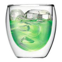 PAVINA Set 6 verres, double paroi, 0.25 l