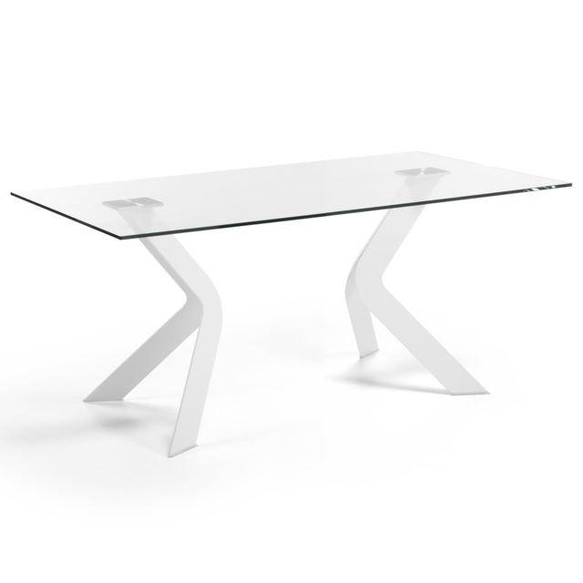 Kavehome Table Westport 150x90 cm, blanc