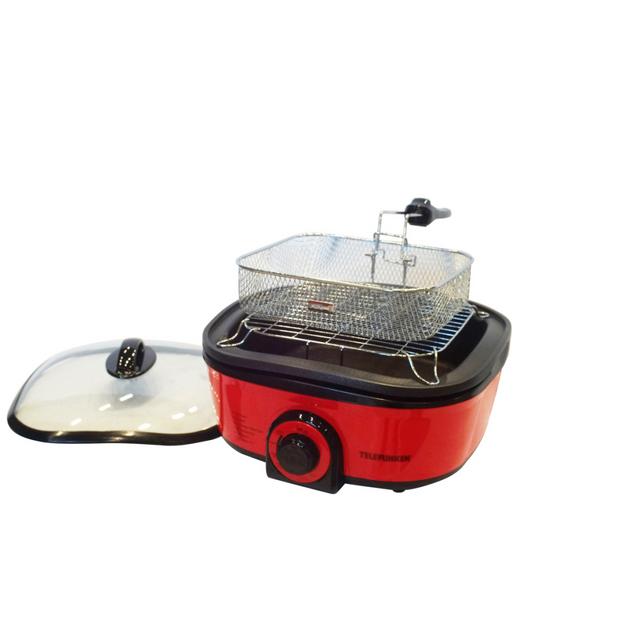 Telefunken Cuiseur multifonction rouge 5 l 1 300 W 22366