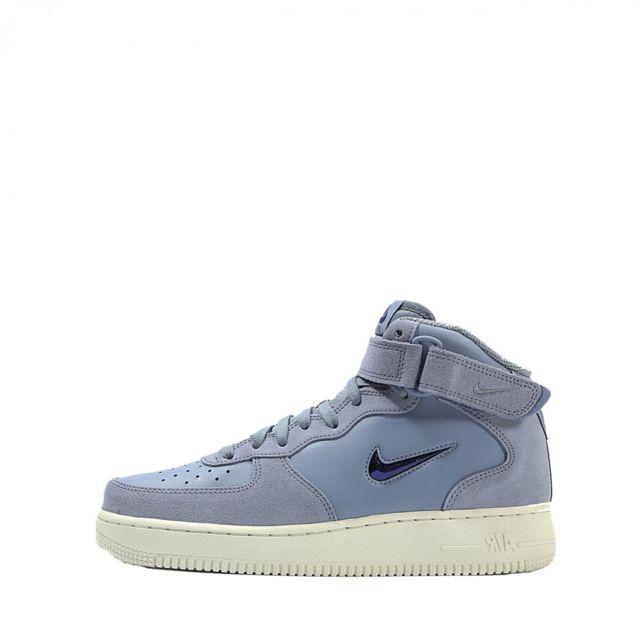 detailed look e16d2 1a19c Nike - Basket Air Force 1 07 Mid Lv8 - 804609-402 - pas cher Achat   Vente Baskets  homme - RueDuCommerce