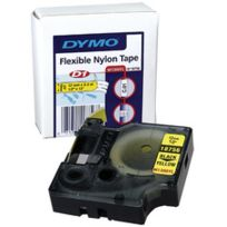 Dymo - Cassette ruban - 12 mm - noir / orange