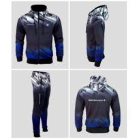Jogging Training Noir Bleu Blanc Logo Bmw Motorpsort E62 3