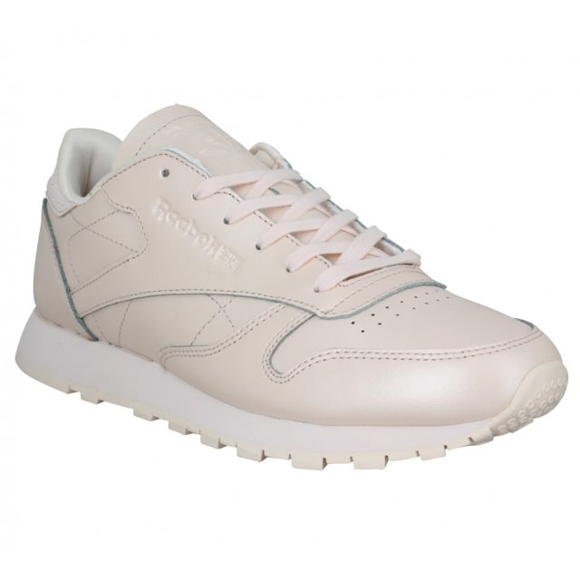 Reebok Classic Leather cuir Femme 37 Rose pas cher Achat