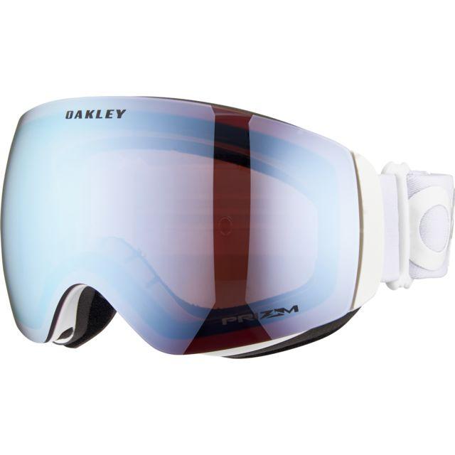 3882aa83cef638 Oakley - Flight Deck Xm - Lunettes de protection - bleu blanc - pas cher  Achat   Vente Masque snowboard - RueDuCommerce