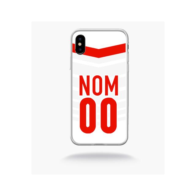 mp 687734 2703 195 apple iphone 10 bord transparent personnalise ta coque avec ton nom ton numero equipe lille