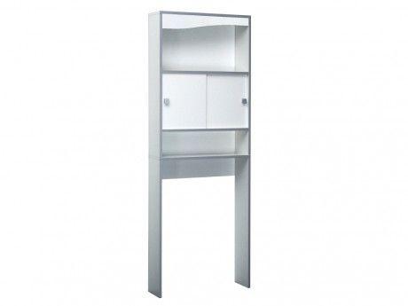 marque generique meuble de salle de bain plits blanc pas cher achat vente meubles de. Black Bedroom Furniture Sets. Home Design Ideas