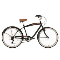 Ks Cycling - Beachcruiser 26'' Vintage noir Tc 46 cm