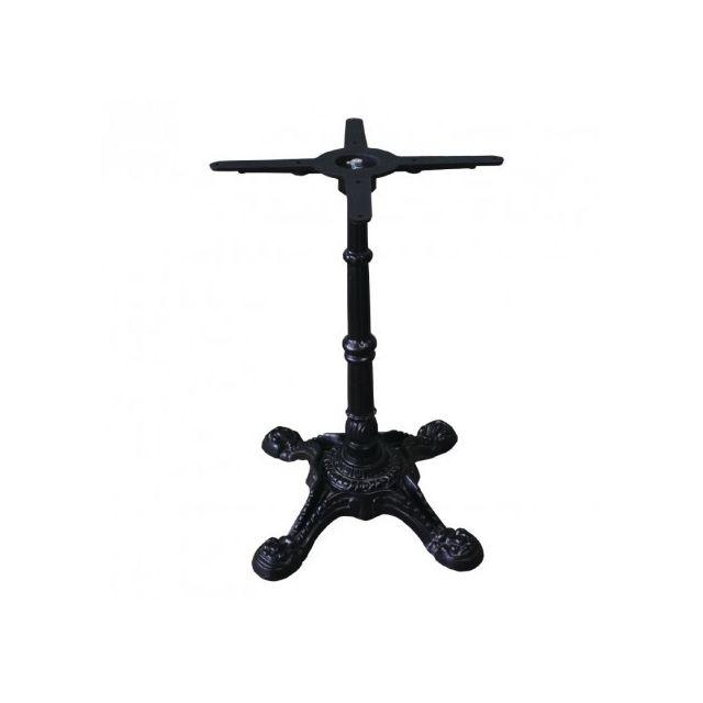 Materiel Chr Pro Pied de table décoré en fonte Bolero pour plateaux Werzalit